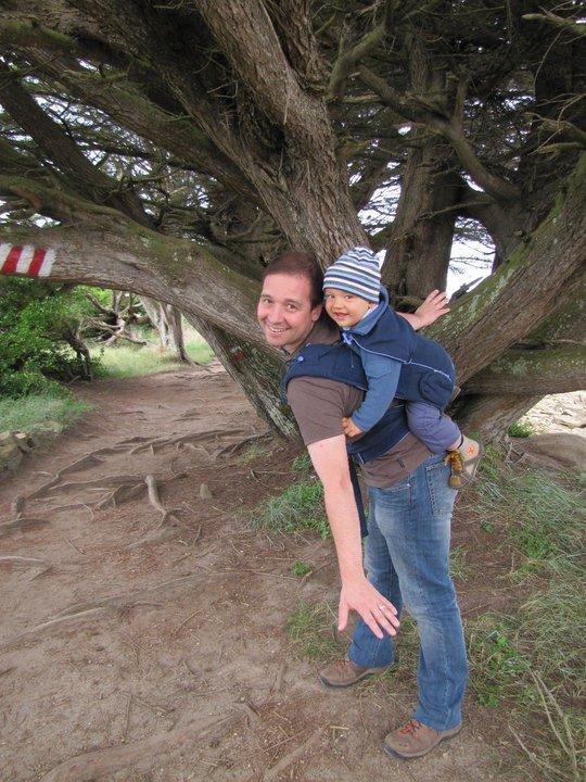 Jaś z tatą w Bondolino marine