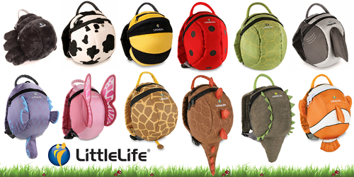 Plecaczki Little Life Animal Pack