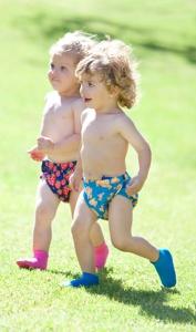 Majteczki do pływania Konfidence - Kropki One Size