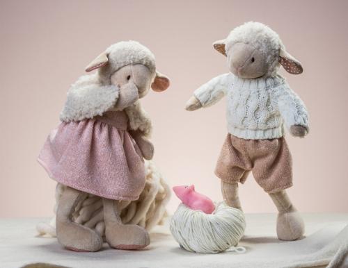 Pluszowa owieczka