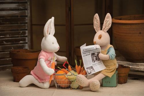 Pluszowy królik duży 2