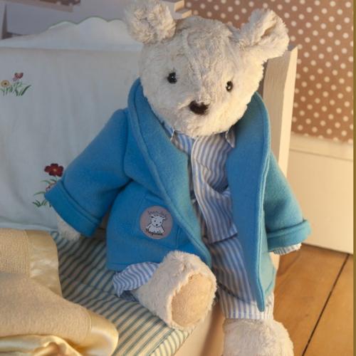 Strój dla królika lub misia Ragtales - Piżamka niebieska