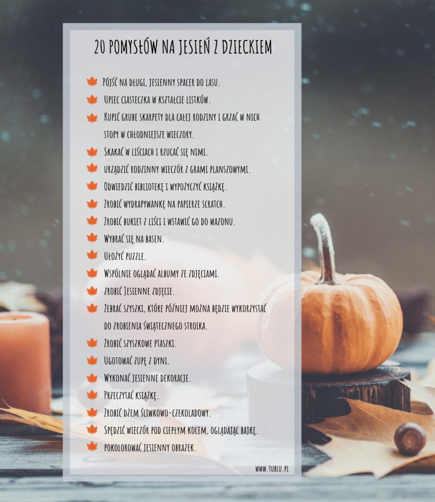 jesień z dzieckiem - bucket list (2)