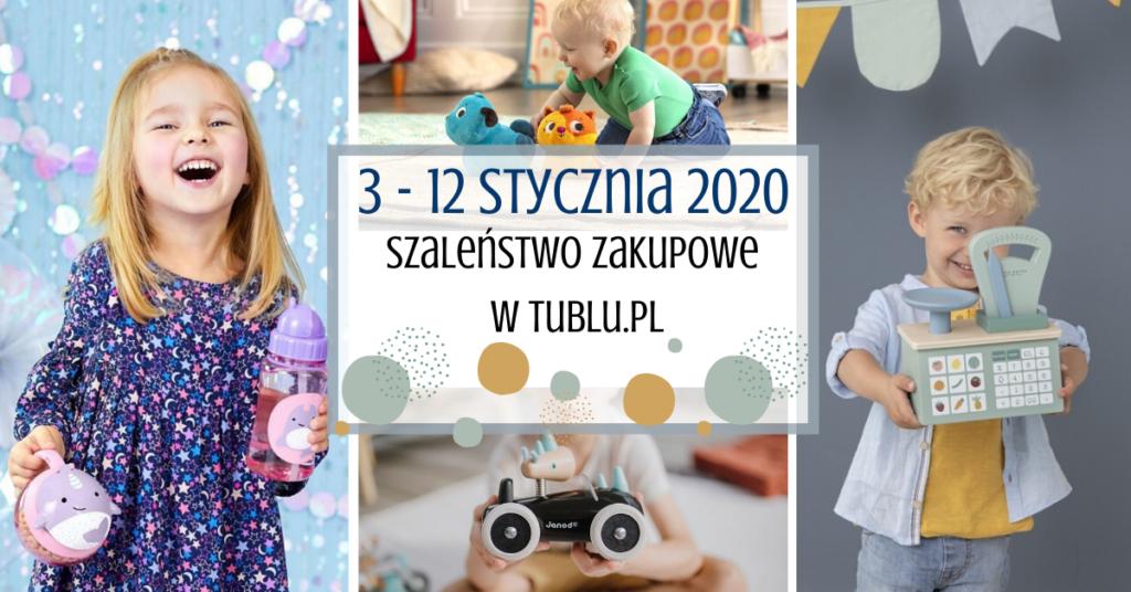 Styczniowe szaleństwo zakupowe w Tublu.pl