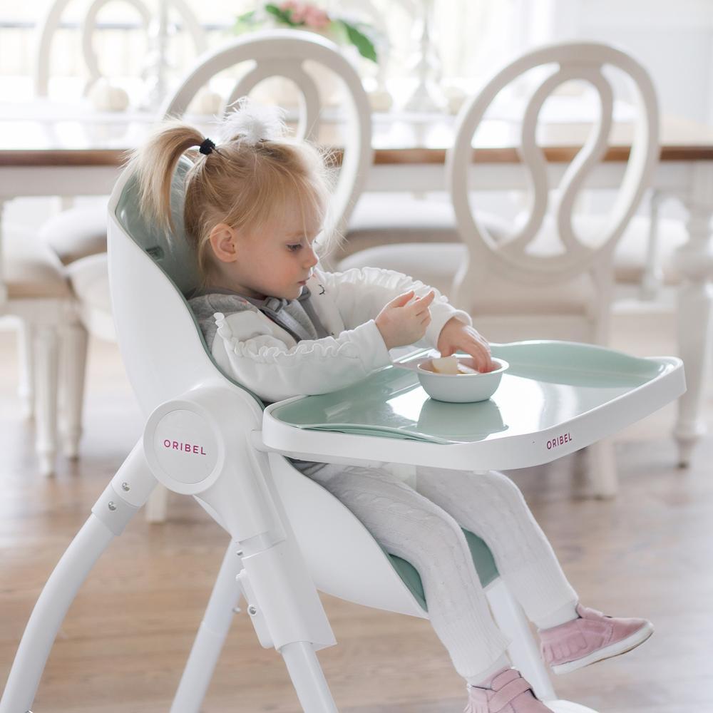 rozszerzanie diety - krzeselko do karmienia oribel